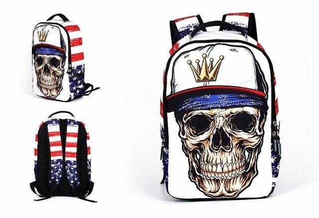 Рюкзак с черепом , новый. Из США