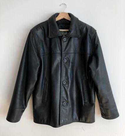 Skórzana kurtka w stylu vintage