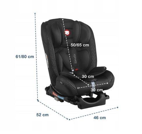 Fotelik samochodowy Lionelo Sander ISOFIX 0-36kg Pochylany !!