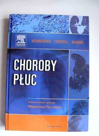 Choroby płuc, Weinberger, Elsevier, interna, pulmonologia