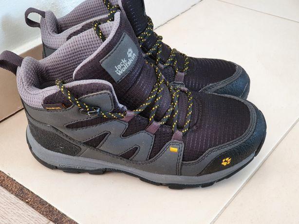 Dziecięce juniorskie buty trekkingowe Jack Wolfskin r. 30 stan bdb