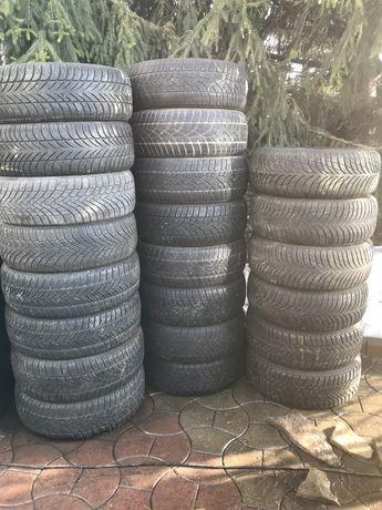 Резина зима 205 55 r 16 комплект пара поштучно dunlop hankook fulda