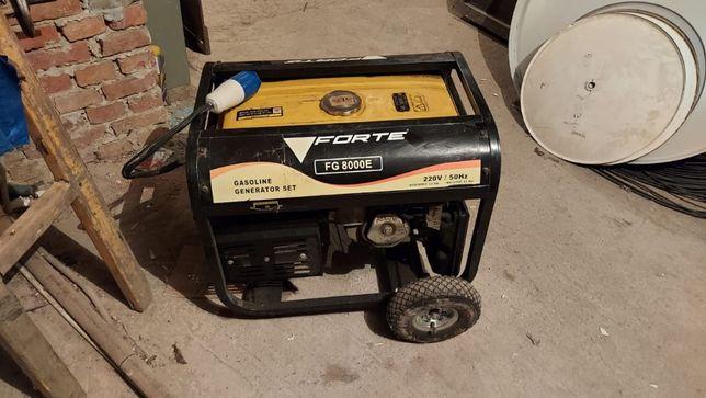 Генератор Forte FG8000E