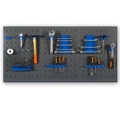 Перфорированная панель для инструмента (580*1220*15) перфопанель
