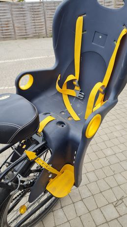 Fotelik rowerowy Hamax dla dziecka
