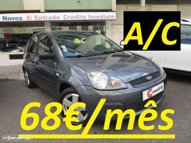 Ford Fiesta 1.25 Trend 5 Portas A/C 68€/MÊS* IUC/Selo Antigo