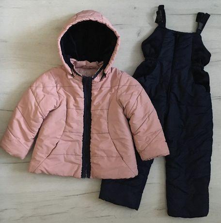 комплект зимний на девочку 4/5л, комбинезон зимний,комплект зима