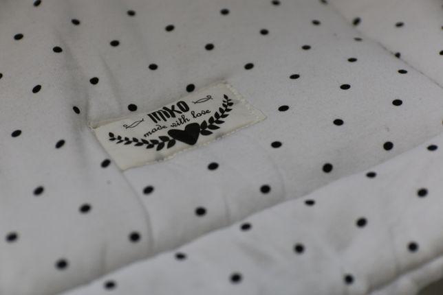 ochraniacz do łóżeczka 140/70 firmy miko - hand made with love