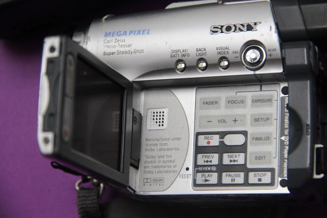 Maquina Filmar DVD Sony - avariada