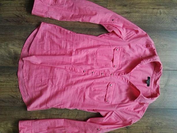Bluzka S 36 łososiowy koszula Amisu