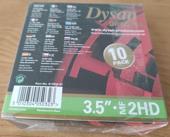 Dysan diskettes, dyskietki, 10szt.