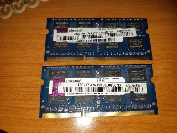 Pamięć RAM DDR3 2x 2GB do laptopa