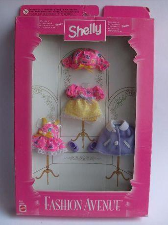Conjunto Fashion Avenue Shelly com chapéu (1997) novo em caixa nrfb