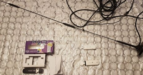 Router pendrive + antena wzmacniająca