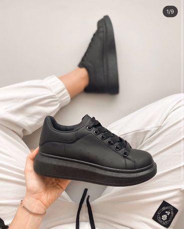 Женские Кроссовки Кеды Обувь черные