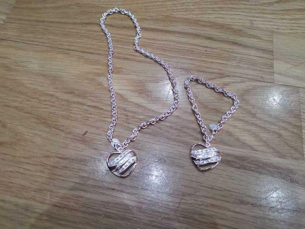 Conjunto de fio e pulseira