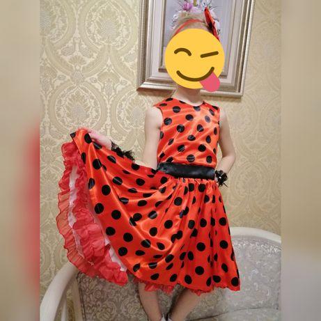 Платье  в горох Стиляги