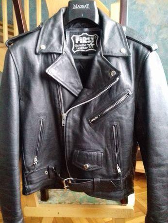 Amerykańska kurtka skórzana motocyklowa , unisex r.36 NOWA