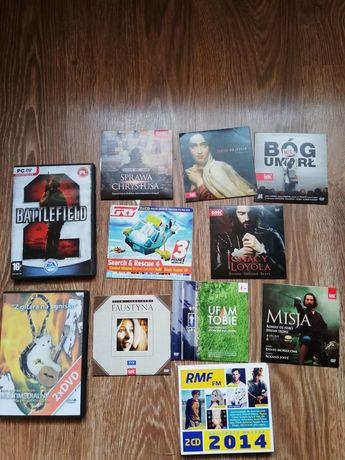 Płyty DVD filmy i muzyka