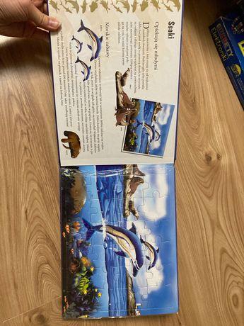 Skarby oceanu ksiazka puzzle