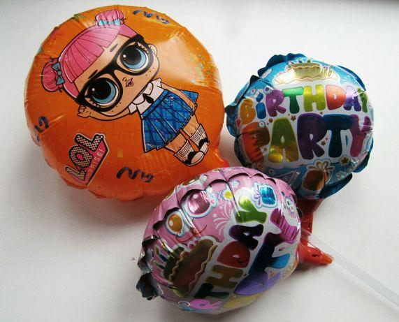 Шары из фольги,фольгированные,кульки з фольги,усі 3 разом