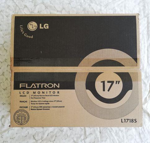 "Monitor LG 17"" FLATRON"
