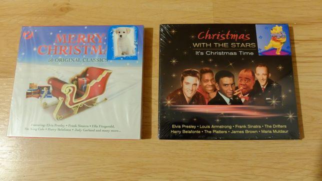 Płyty Merry Christmas i Christmas With The Stars - kolędy i pastorałki
