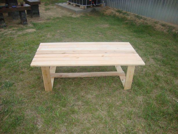 Stół ogrodowy z olchy