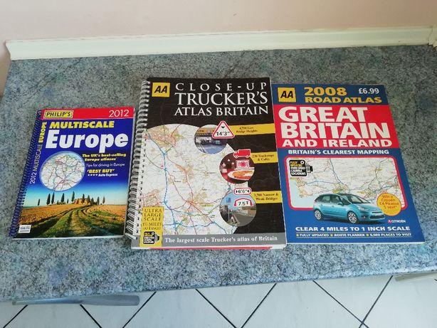 Atlas Europy Atlasy Wielkiej Brytanii