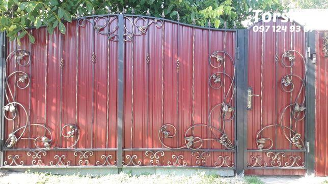 Ворота+калитка (3м+1м), продам