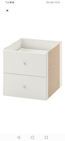 Wkład regału Kallax Ikea szuflady