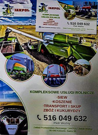 Siew Koszenie Transport i Skup