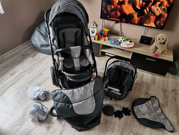 Wózek zipp 3 w 1. Gondola sportowy i nosidełko.