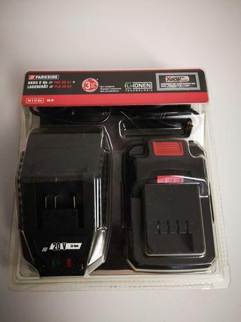 Akumulator z ładowarką Parkside PAP 20 A1