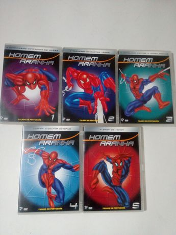 5 DVD: Homem Aranha