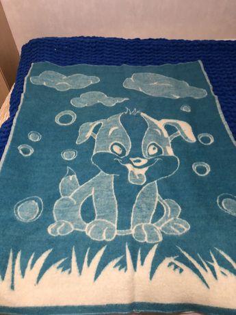 Шерстяное детское одеяло ярослав