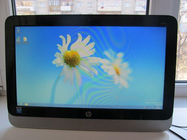 Моноблок HP 19-2113w / Компактный компьютер - 19'' / 2 ядра / 4 Гб / 5