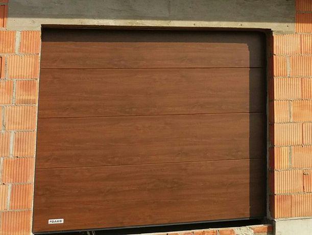 Ciepła Brama w cenie zwykłej 60 mm panel 2400/2100