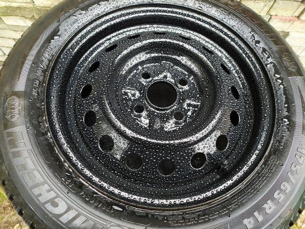 Opony Michelin Alpin 4 Zimowe z felgami Toyota yaris 14 cali zamiana