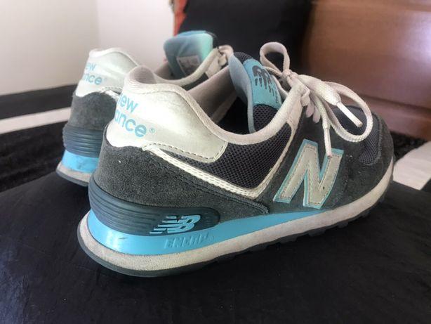 New Balance Azuis/Brancas