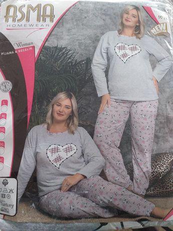 Piżama damska ocieplana