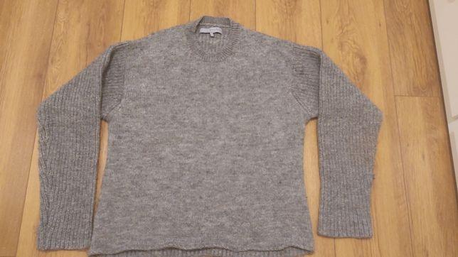 Sweter Jigsaw menswear London M wełna alpaca