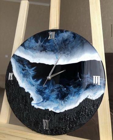 Часы картина декор