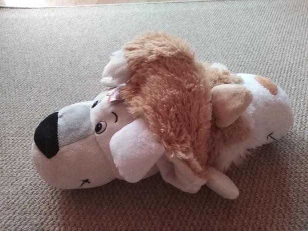Fiip a Zoo pluszak maskotka 2 w 1 Husky i Miś polarny 45 cm