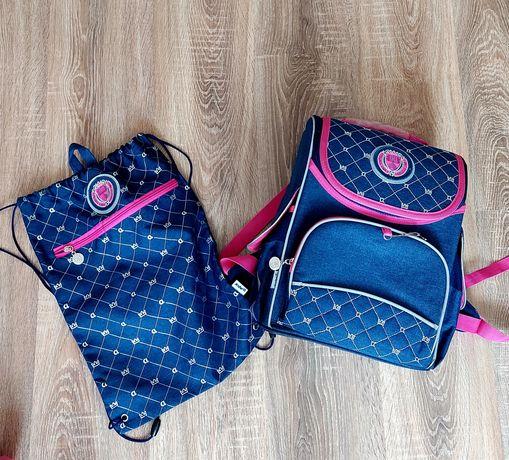 Рюкзак,пенал та сумка для взуття для дівчики  Kite