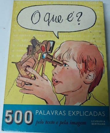 O Que é ? 500 Palavras Explicadas Livraria Bertrand