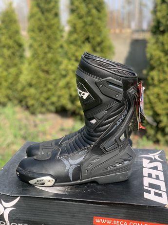 Nowe buty motocyklowe SECA HYPER rozmiar 46 sportowe,NAJTANIEJ!