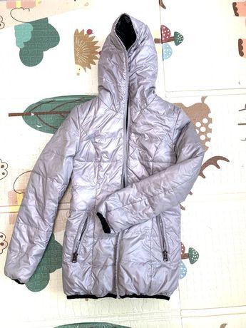 Продам двухстороннюю куртку, пуховик