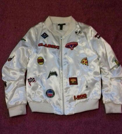 Курточка - бомбер, демисезонная, размер S