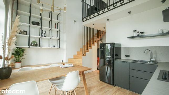 Dwupoziomowe mieszkanie w stylu LOFT